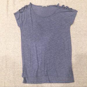 Athleta Strappy Cold Shoulder Workout T-Shirt